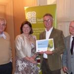 PWWG members receiving award